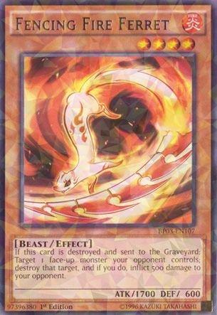 Yu-Gi-Oh! - Fencing Fire Ferret (BP03-EN107) - Battle Pack 3: Monster League - 1st Edition - ()