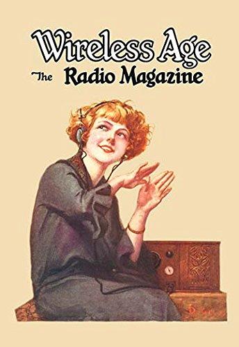 Wireless Age: The Radio Magazine Museum quality giclee print canvas wrap(20