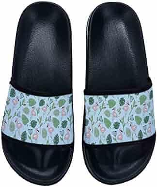 d6fd4819911 Xhan Children Fashion Summer Boys Girl Flamingo Cartoon Lovely Beach Slippers  Platform Sandals