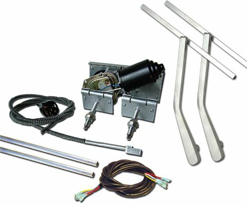 AutoLoc WIPERDT Heavy Duty Power Windshield Wiper Kit with Top Mount Wiper Arms by Autoloc (Image #1)'