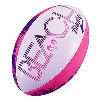 Beach Balón de Rugby - ligero FUN Balón de Rugby: Amazon.es ...