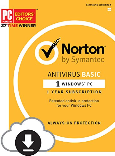 Norton Antivirus Basic  1 Pc  Download Code