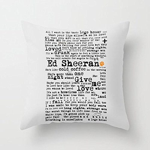 My Honey Pillow Ed Sheeran + Throw Pillow By Adelfor Your Ho