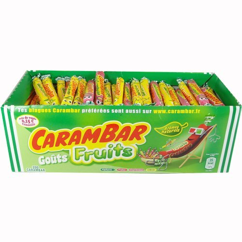 Carambar Fruits French Traditions Caramel Candy CASE by La Pie qui Chante