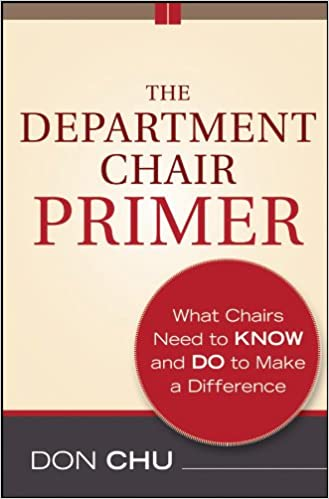 The Department Chair Primer by Don Chu