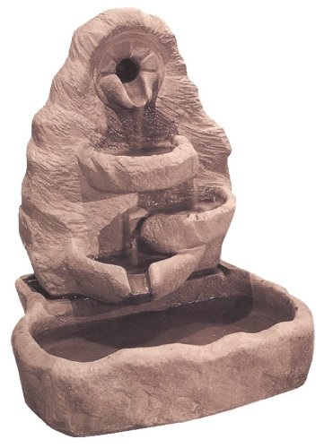 Henri Studio Small Multi-Spill Arch Fountain - Brown