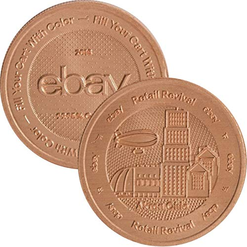 Copper Revival Collection - 1 oz .999 Pure Copper Round/Challenge Coin (Ebay Retail Revival Series (2018))