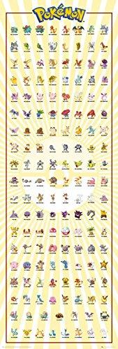 Pokemon-Kanto-151-Pster-158-x-53cm