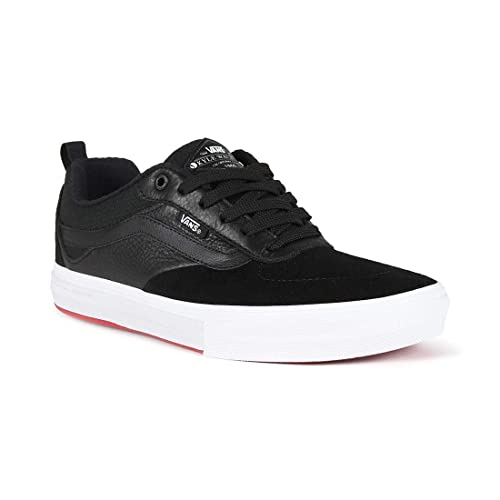 6e8c816dd35 Vans Kyle Walker Pro Black Red Skateboarding Suede Leather Canvas Shoes (US  D 11)