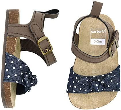 Carters Kids Infant Girls Strap Sandal Flat