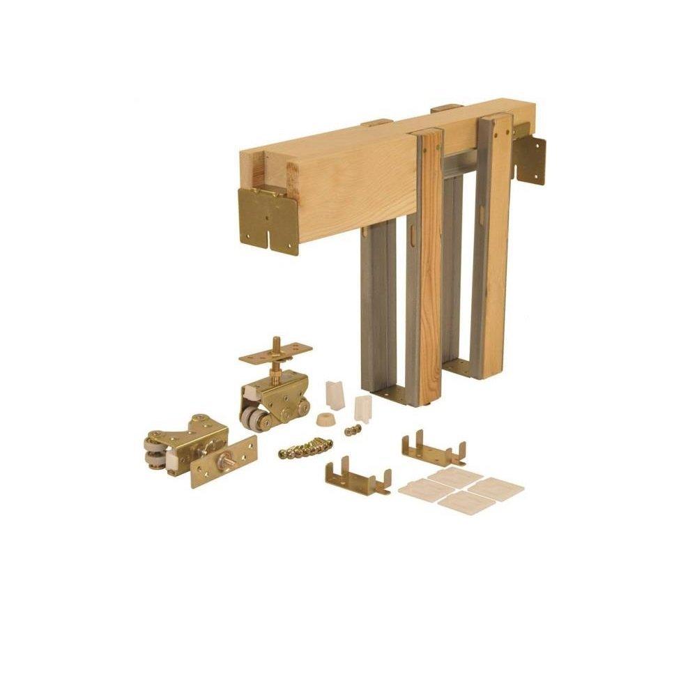 Johnson Hardware 203068pf 36 X 80 Pocket Door Frame Pocket Door