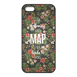 Maroon 5 Design Solid Rubber Customized Cover Case for iPhone 5 5s 5s-linda404