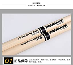 Promark American Hickory 5A Wood Tip Drumstick