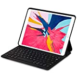 Keyboard Case for iPad Pro 10.5/ iPad Air 2019 3rd Gen,iPad 10.5 inch Ultra-Thin Lightweight Bluetooth Keyboard with Magnetically Intelligent Switch and Multi-Angle Stand Auto Sleep/Wake Silent Typing