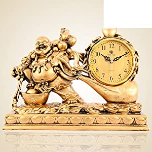 Maitreya Lucky Clock Living Room Feng Shui Boutique Bells Continental Antique Pendulum Time A