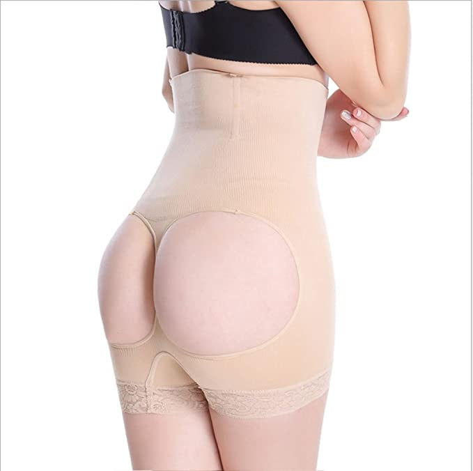 49b802884b nuoke High Waist Butt Lifter Butt Lift Shaper Women Butt Booty Lifter With  Tummy Control Butt