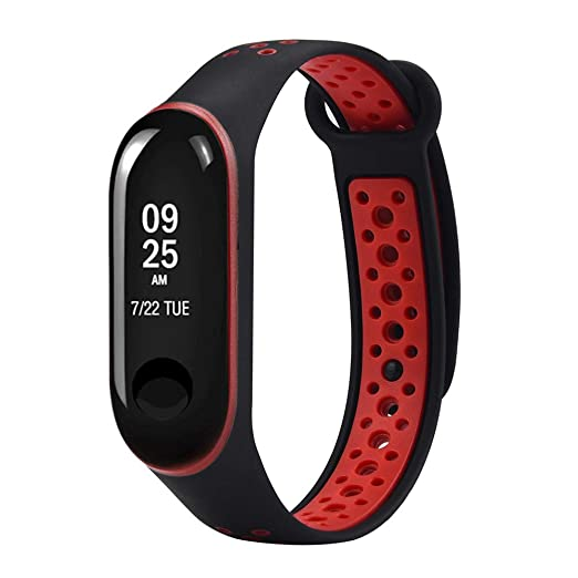 QuickZ Durable reemplazo de TPU Anti-Off Pulseras Deportivas Correas para Xiaomi mi Band 3