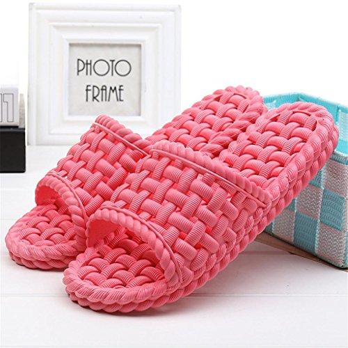 zapatillas playa suaves zapatillas sandalias de On baño Leaky par interior EVA 2 Slip B ducha Señoras Zapatillas casa de fondo ga066q