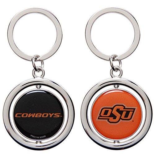 - FOCO NCAA Oklahoma State Cowboys Football Spinner Keychain, Orange, One Size