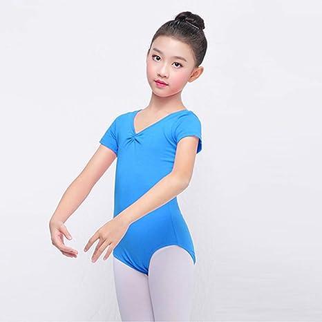 WYGH Maillot de Ballet Danza para niña Niños Deporte ...