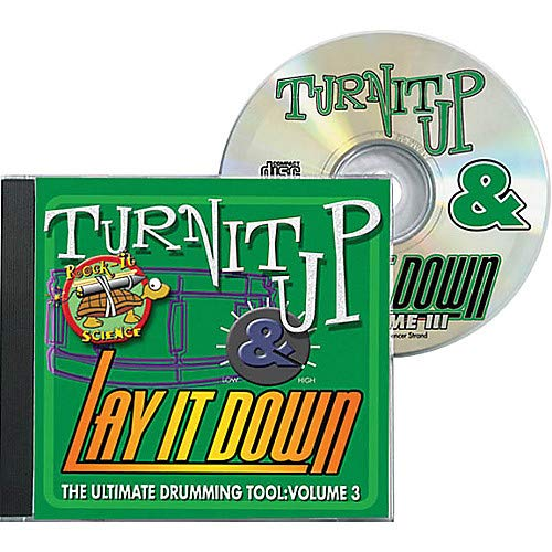 (Turn It Up and Lay It Down, Volume 3 - Rock-It Science - Play Along CD for Drummers Pack of)