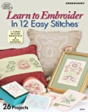 Learn to Embroider in 12 Easy Stitches, , 1590120930