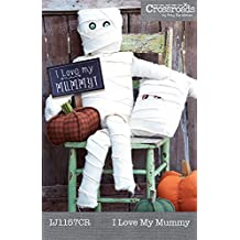 Indigo Junction I Love My Mummy Doll and Pillow Sewing Pattern