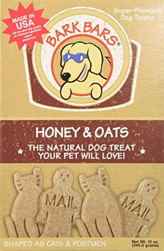 Bark Bars Honey/Oats Pet Treat, 12-Ounce