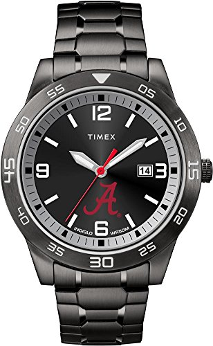 Timex Alabama Crimson Tide Bama Men's Black Acclaim - Black Ncaa Watch
