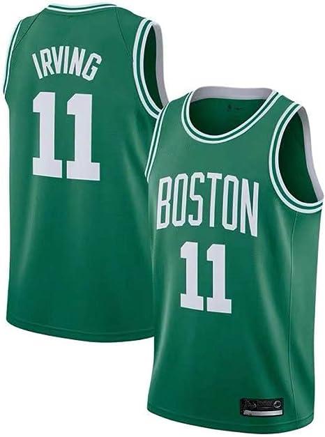 Boruo NBA Hombre Jersey,Boston Celtics n#11 Irving Ropa de ...