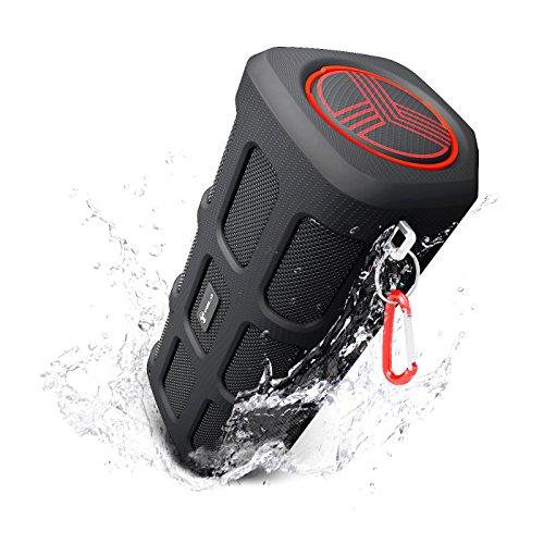 TREBLAB FX100 - Extreme Bluetooth Speaker - Loud, Rugged for Outdoors, Shockproof, Waterproof IPX4, Built-In 7000mAh Power Bank, HD Audio w/ Deep Bass, Portable Wireless Blue Tooth Microphone Mic by Treblab (Image #9)