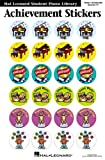 Achievement Stickers Package Hlspl (Hal Leonard Student Piano Library)