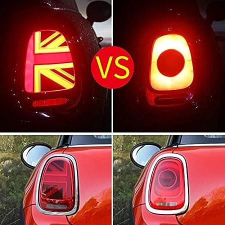 Feu arri/ère LED pour Mini Cooper F55 F56 F57 2014-2018 Feux arri/ère Union Jack avec signal dynamique