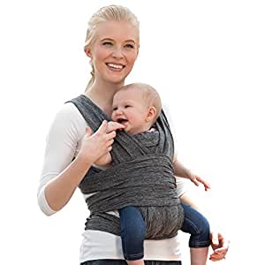 Amazon Com Boppy Comfyfit Baby Carrier Heathered Gray Baby