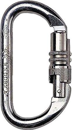 Honeywell 1018968 Miller Twist lock Carabiner Trapezoidal Aluminium Open 16 mm