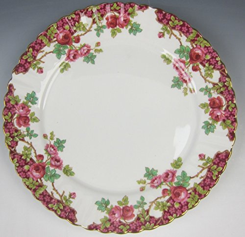 Royal Stafford China OLDE ENGLISH GARDEN-RED Salad Plate(s) ()