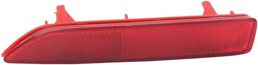 Rear Bumper Reflector Lens Red Left Driver Side Fit For 2007 2008 2009 Honda CRV 33555-SWA-003 33555SWA003