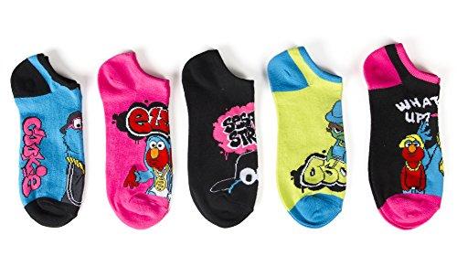 Sesame Street Girls 5 Pack 016Hp Black