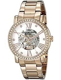 Women's 629.05 Legacy Analog Display Automatic Self Wind Rose Gold Watch