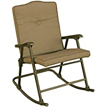 Amazon Com Outdoor Folding Rocking Chair
