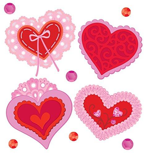 (Jolee's Boutique Lace Hearts Dimensional Embellishments)