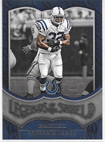 Indianapolis Colts Shield - Edgerrin James 2016 Panini Legends of the Shield Indianapolis Colts Insert Card #17