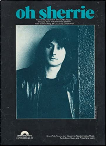 oh sherrie recorded by steve perry sheet music