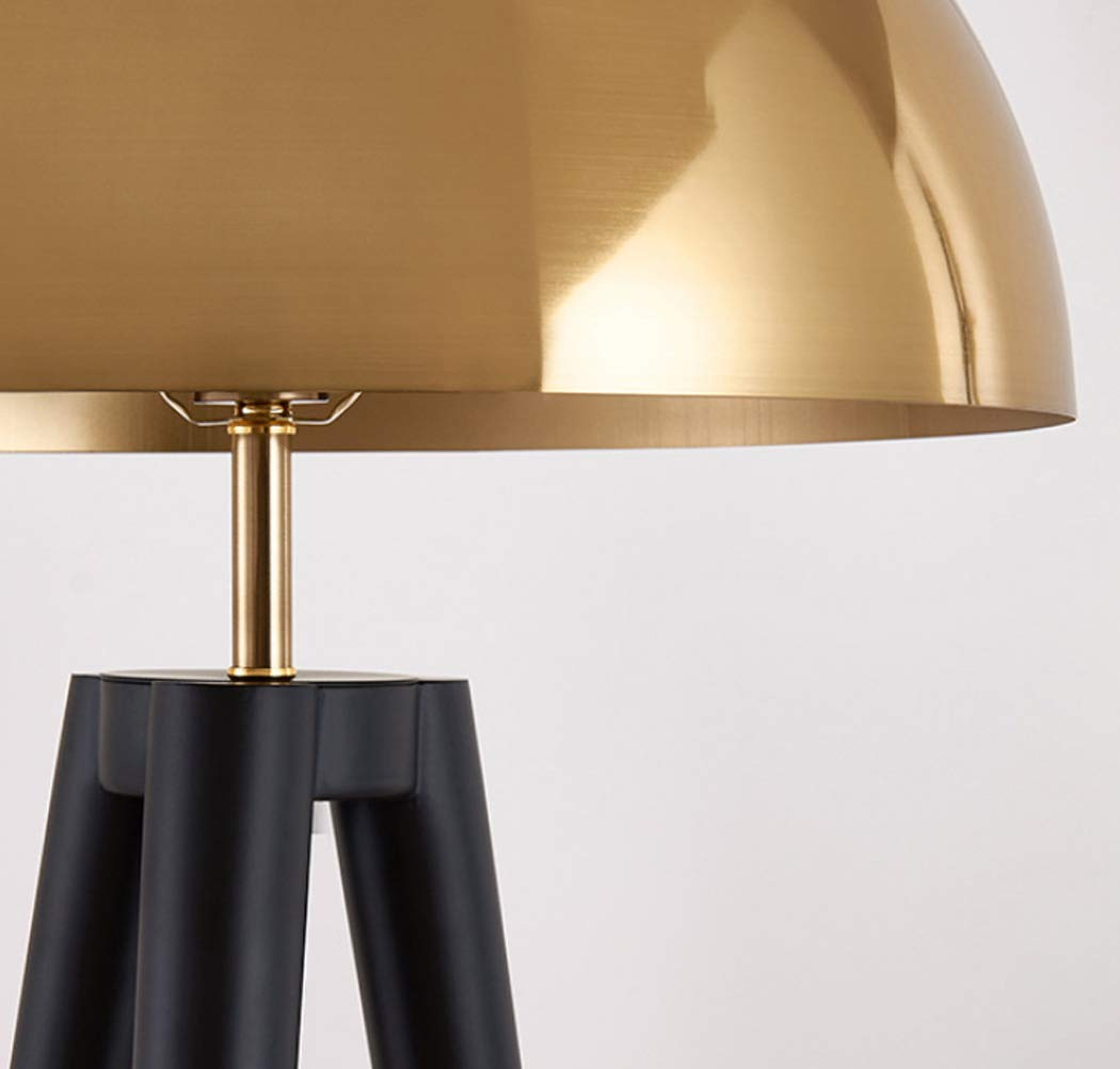 lampadaire tr/épied Simple Living Room Bedroom E27 Designer Floor Lamp Lampadaire moderne t/ête de champignon//m/étal