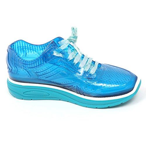 turchese scarpa donna turchese rubber pvc AIRDP shoe BY sneaker C8734 ISHU woman x4wHqHgP