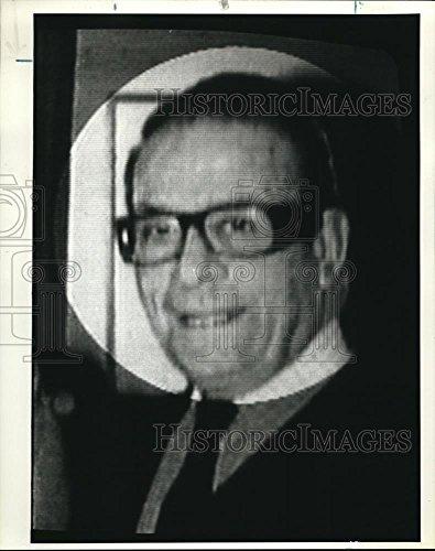 1984 Press Photo Basil Alexander Tsakos Globe Trotting Entrepreneur   Ora94131