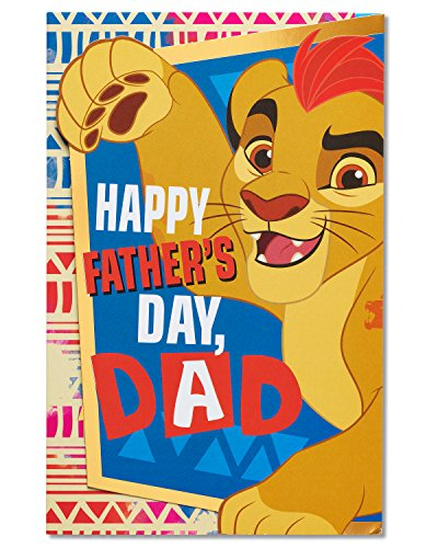 American Greetings The Lion Guard Father's Day Card with Foil (5873396)