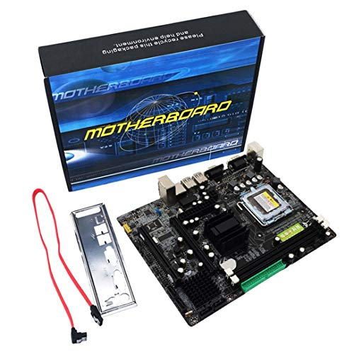 Set 775 Chip Socket (945 Motherboard, 945GC+ICH Chipset Support LGA 775 FSB533 800MHz SATA2 Ports Dual Channel DDR2 Memory)