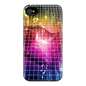 Iphone Case - Tpu Case Protective For Iphone 4/4s- Colorful Abstract