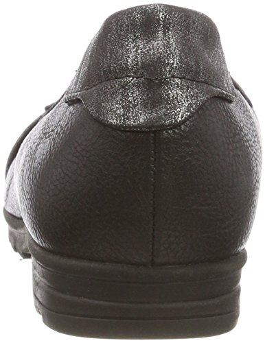 Flats Softline Black Women's 21 Ballet 001 Black 22101 RwxzqFI
